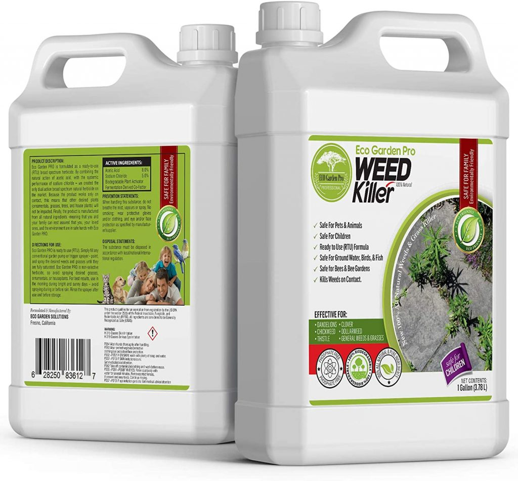 Organic weed killer for lawn