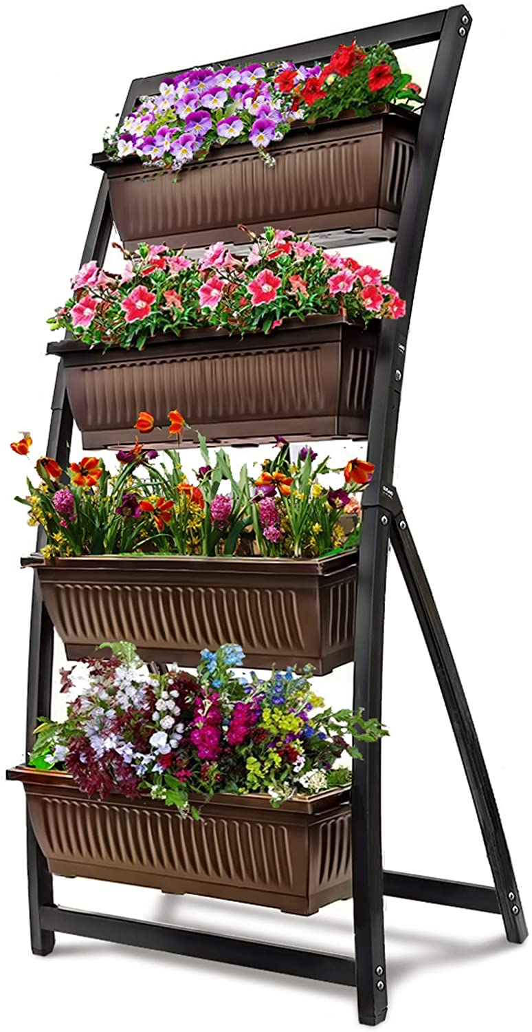 Picture of: Green Foyuee Metal Raised Garden Bed Kit Elevated Planter Box Outdoor Patio Frame For Vegetables 4 X 3 X 1 Talkingbread Co Il