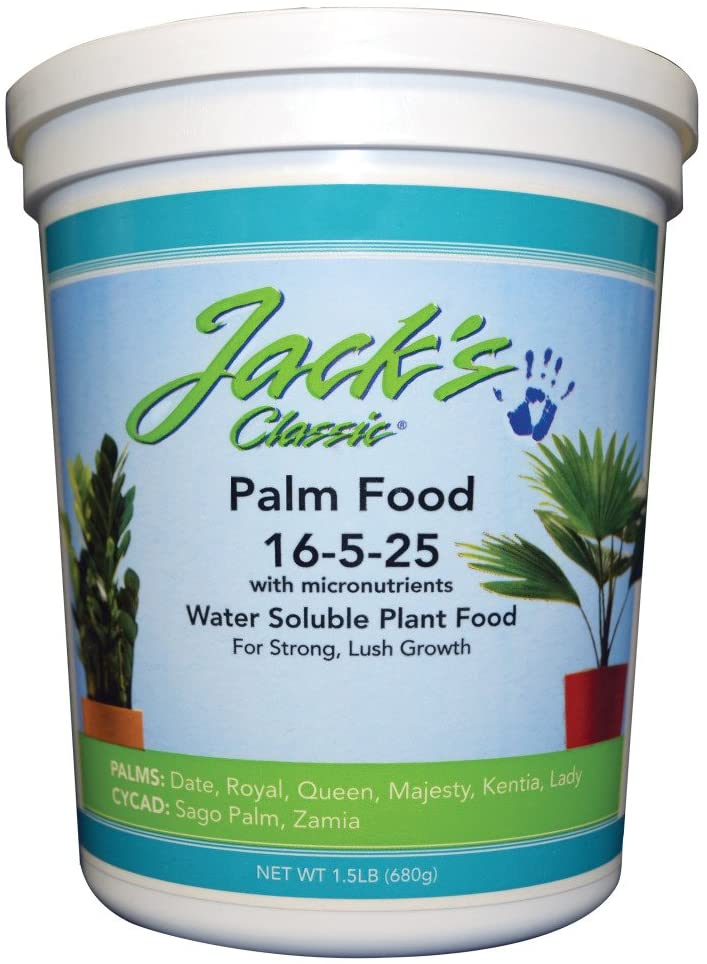 JR Peters Jack's Classic 16-5-25 Palm Food